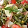 Salade de haricots verts estivale