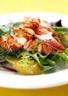 Salade de homard aux pommes de terre tèdes