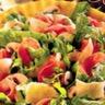 Salade de jambon sec roquette et parmesan