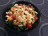 Salade de mâche avocat et crevettes