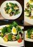 Salade de mâche betterave thon oeuf dur tomates cerise