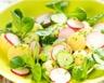 Salade de mâche et pommes de terre