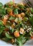 Salade de mâche pomme et carottes
