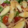 Salade de magret de canard sucrée salée