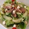 Salade de magret fumé poires au Tartare