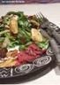 Salade de magrets de canard séché aux figues et panais