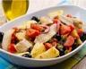 Salade de maquereaux aux pommes de terre tomate câpres et olives