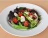 Salade de mesclun et fraises