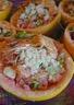 Salade de pamplemousse crevettes et crabe