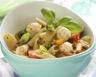 Salade de pâtes à la mozzarella