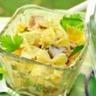 Salade de pâtes au gruyère AOC et au curry