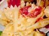 Salade de pâtes au jambon et vinaigrette à la moutarde