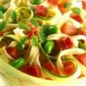 Salade de pâtes au jambon sec