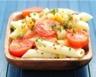 Salade de pâtes au maïs et aux tomates