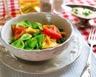 Salade de pâtes au poulet haricots verts et mozzarella