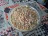 Salade de pâtes au surimi et au poulet