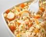Salade de pâtes au surimi rapide