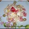 Salade de pâtes au thon mayonnaise