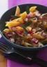 Salade de pâtes aux foies de volaille