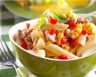 Salade de pâtes aux oeufs durs et au thon