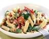 Salade de pâtes aux poivrons feta et au basilic