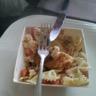 Salade de pâtes et crousti-mozza