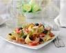 Salade de pâtes et jambon aux olives noires