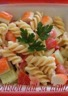 Salade de pâtes et surimi