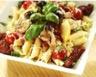Salade de pâtes poulet et tomates