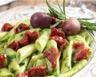 Salade de penne aux tomates séchées et au pesto