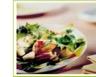 Salade de poires aux noix de Saint-Jacques