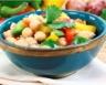 Salade de pois chiches aux poivrons