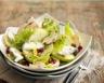 Salade de pommes chèvre et champignons