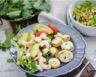 Salade de pommes de terre à l'avocat et aux crevettes