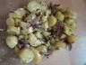 Salade de pommes de terre au confit de canard