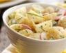 Salade de pommes de terre aux radis et concombres