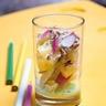Salade de pommes de terre et radis sauce wasabi et noisettes concassées