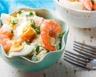 Salade de pommes de terre oeufs et crevettes minceur