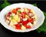 Salade de pommes de terre poivron et sa vinaigrette