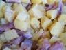 Salade de pommes de terre tièdes et harengs fumés