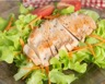 Salade de poulet fermier à la moutarde