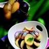 Salade de Princesse Amandine et pomme fruit au hareng