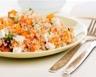 Salade de quinoa au bacon chèvre et potimarron d'hiver
