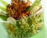 Salade de quinoa au poulet paprika