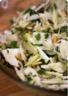 Salade de radis noir fenouil et graines grillées