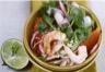 Salade de roquette au fenouil et aux crevettes