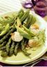 Salade de Saint-Jacques aux asperges