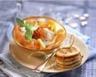 Salade de saumon au chèvre frais