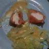 Salade de saumon et chèvre frais