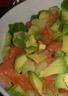 Salade de saumon fumé pommes de terre et avocat